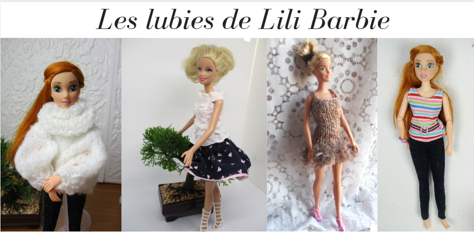 patron de lingerie pour barbie