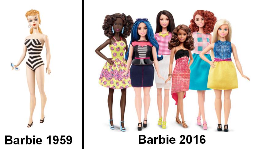 les 60 ans de Barbies et pas une ride !
