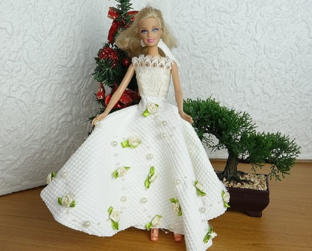 Une robe de Princesse aux couleurs du printemps