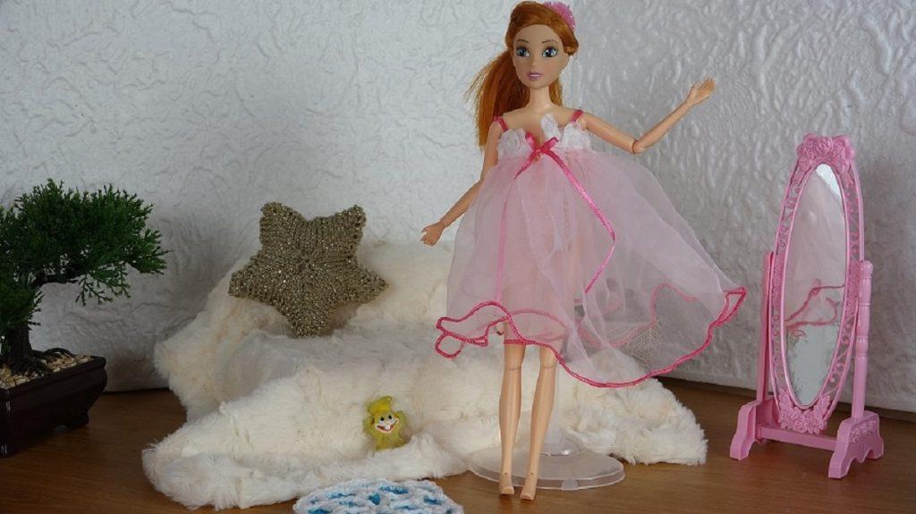 Une nuisette pour notre Barbie