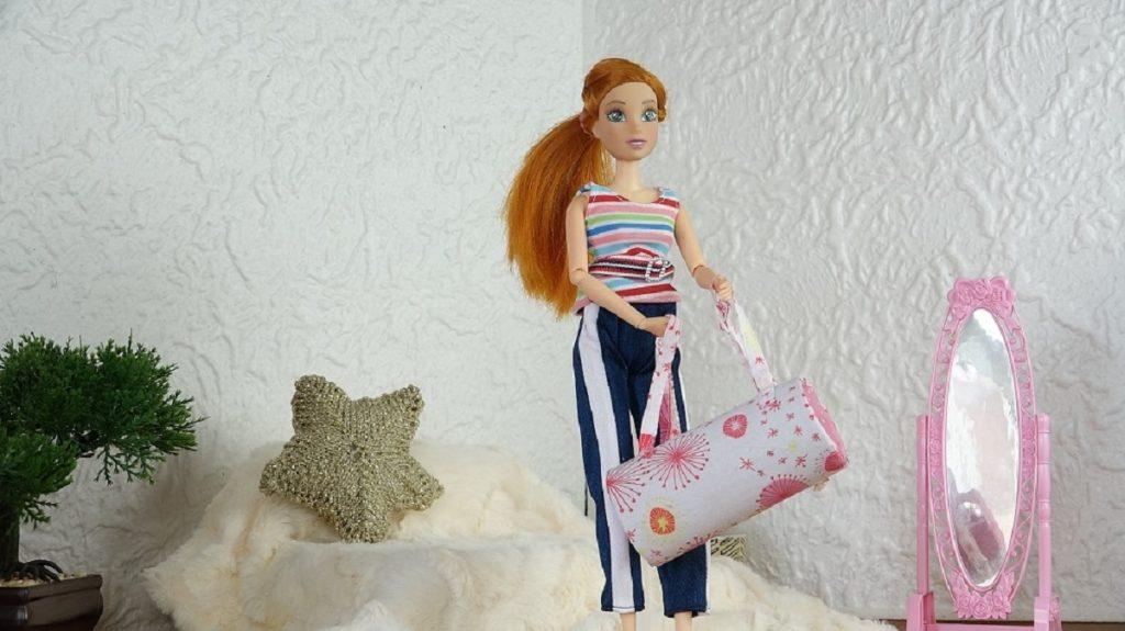 Un sac de sport pour notre Barbie